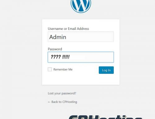 How to reset WordPress Password from PHPMyAdmin