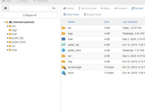 How to use cPanel File Manager